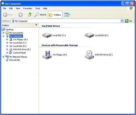 My Computer en Hirens Boot CD