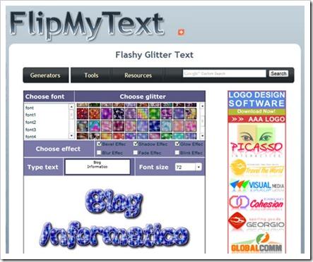 Flip My Text