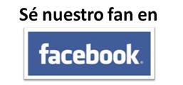 Sé nuestro fan en  Facebook