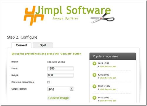 Jimpl Image Splitter