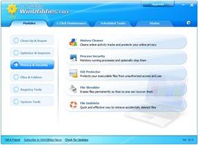 3 WinUtilities freeware