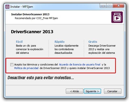 MP3jam Instalación 2