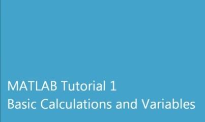 matlab 1 Calculs de base et Variables