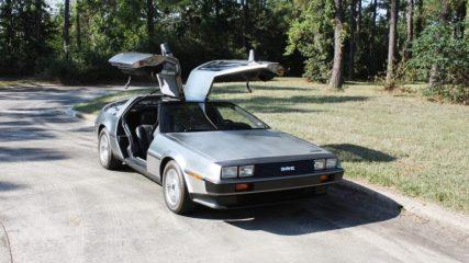 Vers une DeLorean electrique?