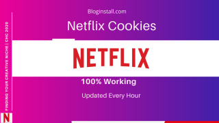 Netflix Cookies November 2019 Hourly Updated