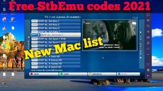 StbEmu codes Stalker Portal mac February 2021