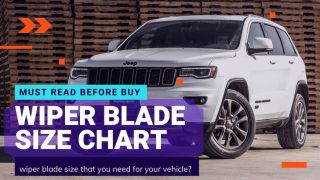 WIPER BLADE SIZE CHART FOR CARS IN INDIA