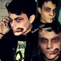 Make Up Artística - Zombie