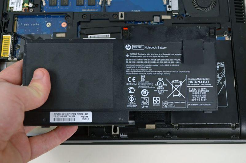 HP Elitebook 820 G1 - baterie