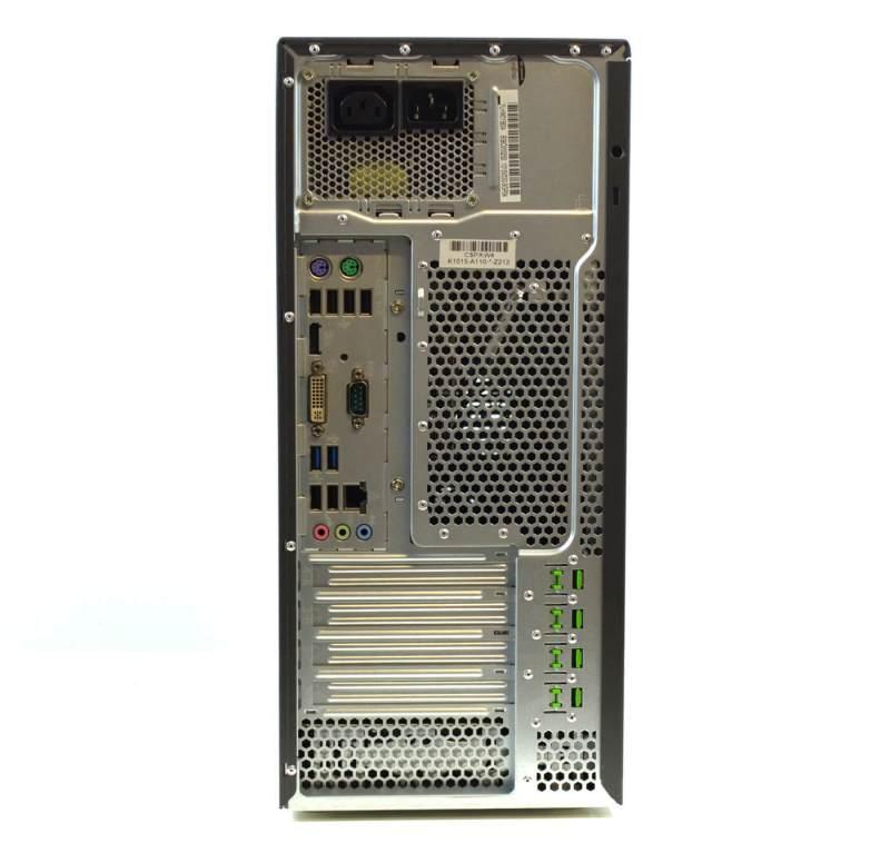 Fujitsu Esprimo P710 - back panel
