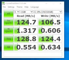 Fujitsu Esprimo P710 - test viteza hdd