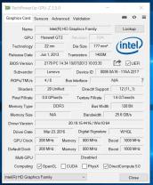 Lenovo ThinkPad S1 Yoga - GPU-Z
