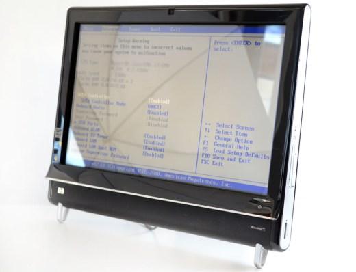 All in One HP TouchSmart 600 - ecran 23 inch