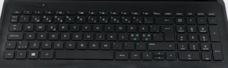 Review HP 255 G2 - tastatura
