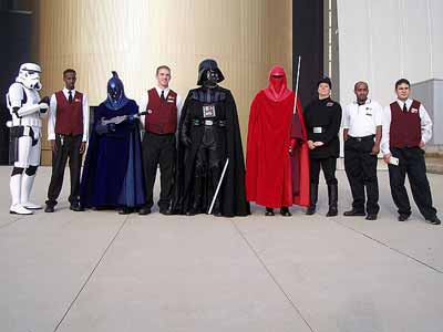 Hospitality Staff on the Death Star