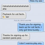 Evil Cellphone Tricks: Cat Facts Revenge