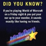 World of Warcraft Players, Beware!