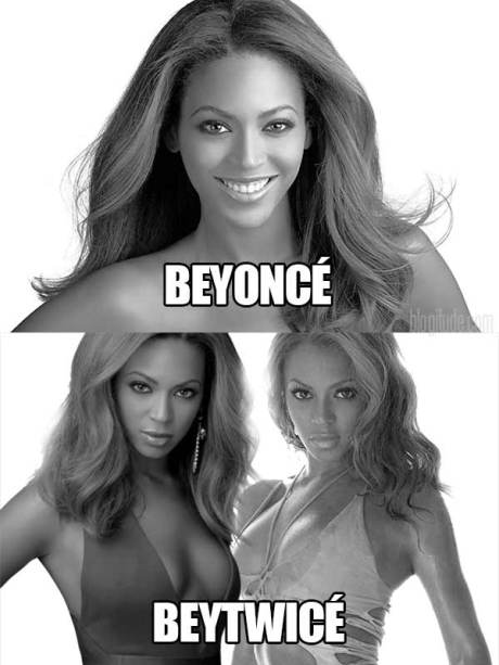 Beyonce! Beytwice!