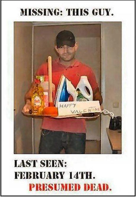 Missing: This Guy.  Presumed Dead.