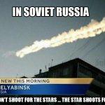 Meteor Streaks Across Russian Sky