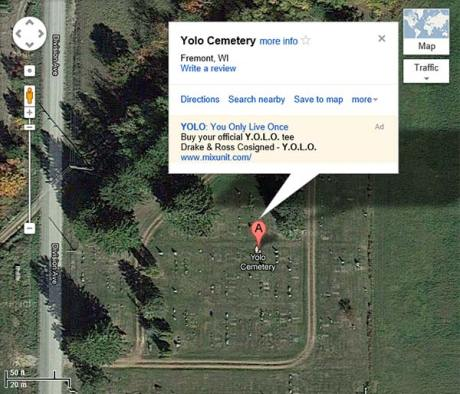 YOLO Cemetery, Fremont, WI