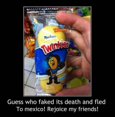 Guess who faked its death and fled to Mexico! Rejoice, my friends!