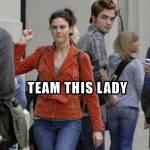 I Guess She's Team Jacob…