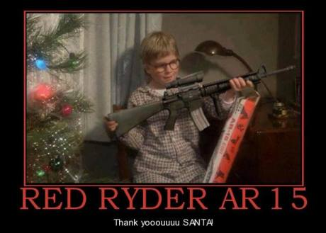 A Christmas Story: Red Ryder AR15