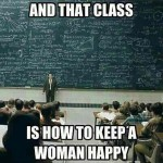 How to Keep a Woman Happy?
