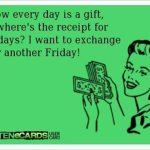 Gift Exchange: Not Available for Weekdays