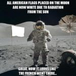 French on the Moon?
