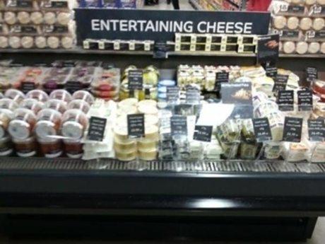 Entertaining Cheese