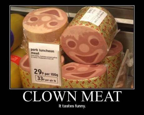 Clown Meat: It Tastes Funny