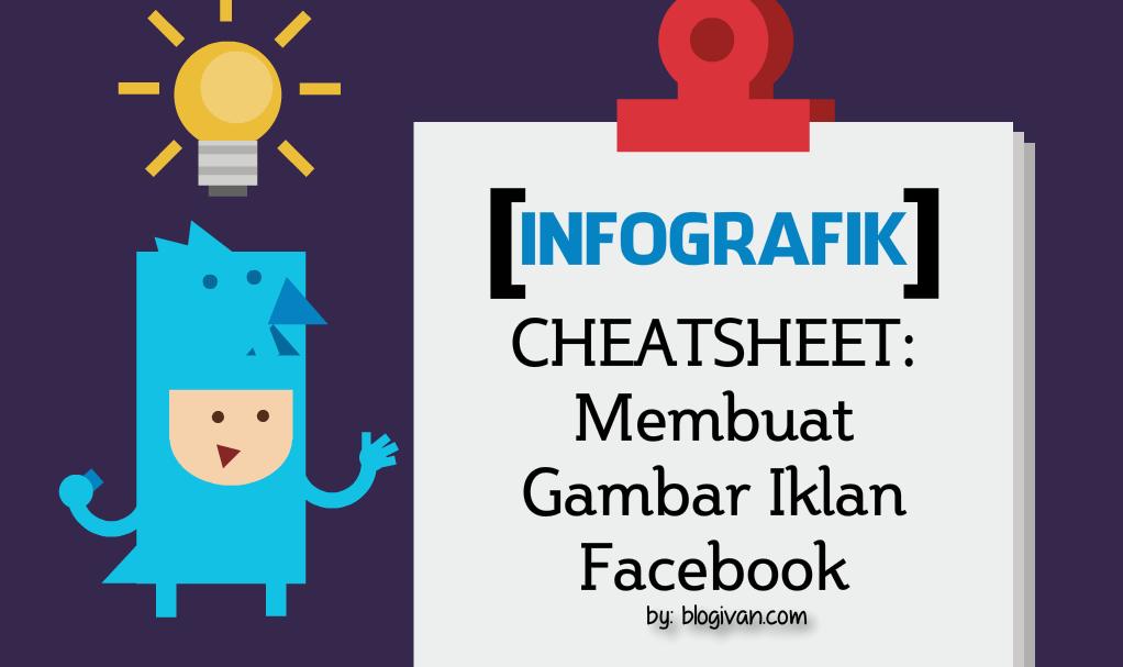 infografik membuat gambar iklan facebook