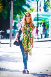 Look com Lenços | Sexta de Beleza - Blog Izabela Silva