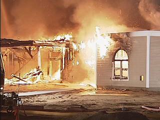 church-fire
