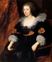 Portrait of Amalie zu Solms-Braunfels by Van Dyck