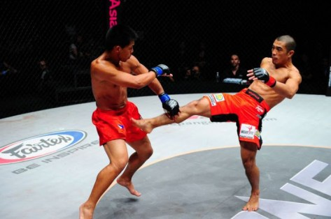 ONE FC 7: Honorio Banario vs Eric Kelly