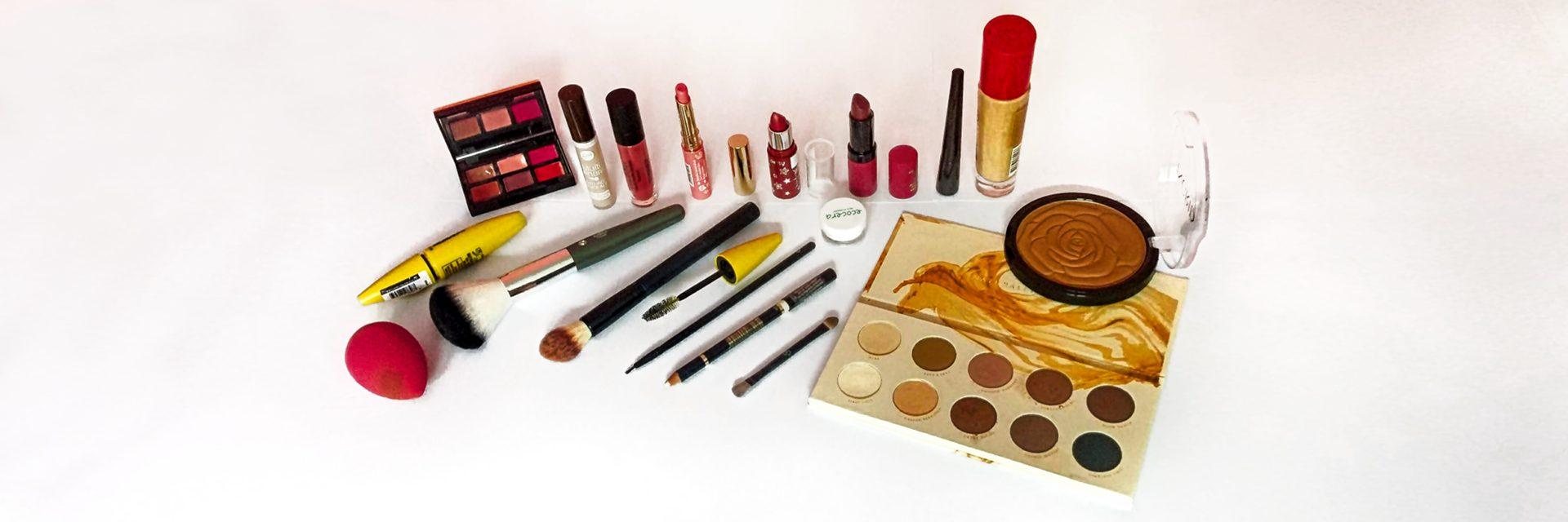 makijaż - pędzle, cienie, pomadki i inne