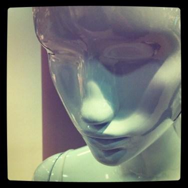 Mannequin aux Galeries Lafayette