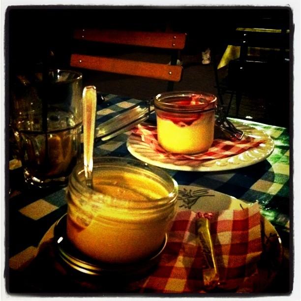 Dessert à la Corde à Linge