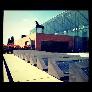 Terrasse du musée d'art moderne et comtemporain