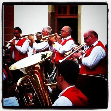 Orchestre champetre place des tripiers