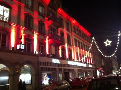 Rue de la nuée bleue Strasbourg