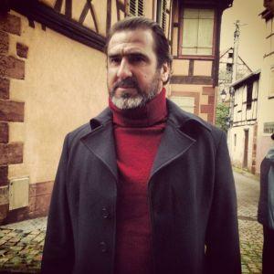 Eric Cantona tournage pub 1664 Bouxwiller