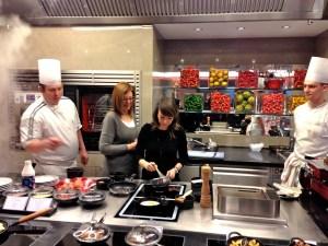 Isa et Réjane à la cuisine ! Obernai