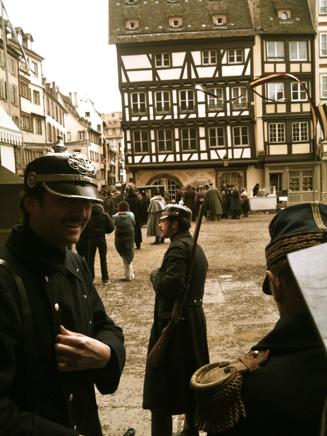 Tournage Sherlock Holmes 2 Strasbourg