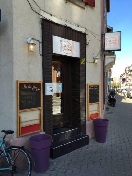 la petite cantoche Strasbourg restaurant façade