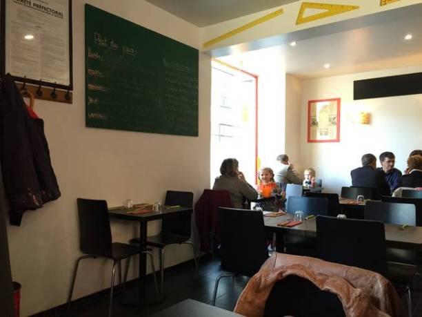 la petite cantoche Strasbourg restaurant salle