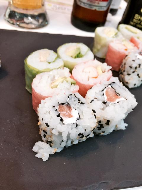 Resto Sushi's au centre ville de Strasbourg maki